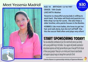 Yessenia Madrid